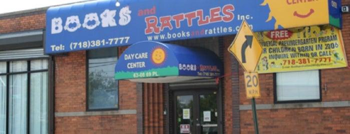 Books and Rattles Preschool is one of Locais salvos de Daniel.