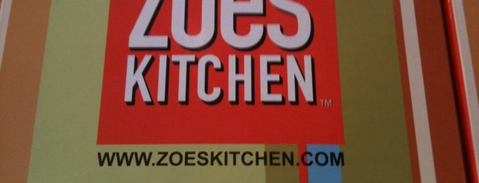 Zoës Kitchen is one of * Simply Gr8 Dallas Dining (DFdub General) USA.