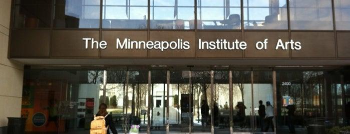 Minneapolis Institute of Art is one of Activities.