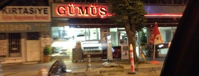 Gümüş Cafe & Bistro is one of Gurme 님이 좋아한 장소.