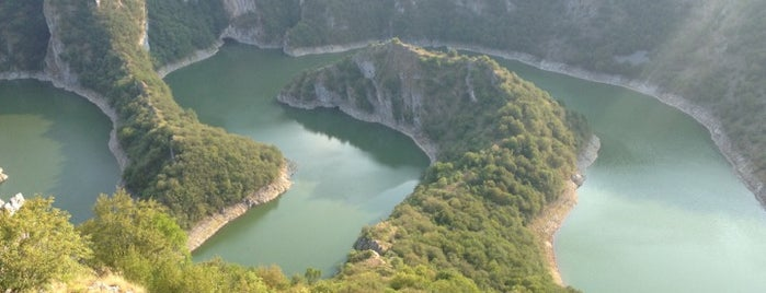 Special Nature Reserve Uvac is one of Out of Belgrade.
