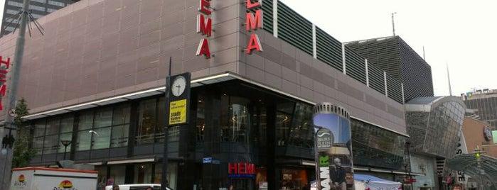HEMA is one of Rotterdam.