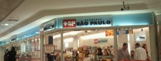 Drogaria São Paulo is one of Tempat yang Disukai Alberto J S.