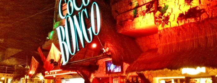 Coco Bongo is one of Playa Del Carmen.