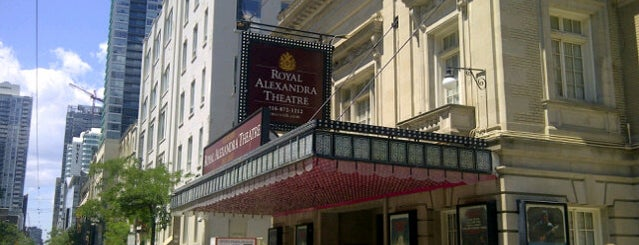 Royal Alexandra Theatre is one of Toronto.