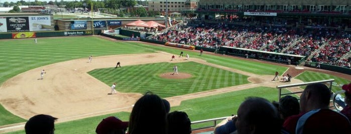 Hammons Field is one of Stadiums Visited.