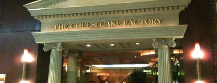 The Cheesecake Factory is one of West End & East Cambridge Lunch Spots.