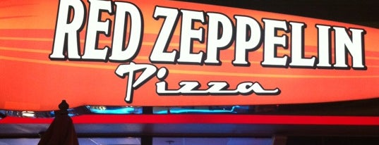 Red Zeppelin Pizza is one of Best of BR.