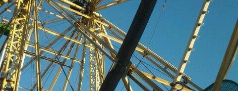 Ferris Wheel is one of Gorgeous landmarks.