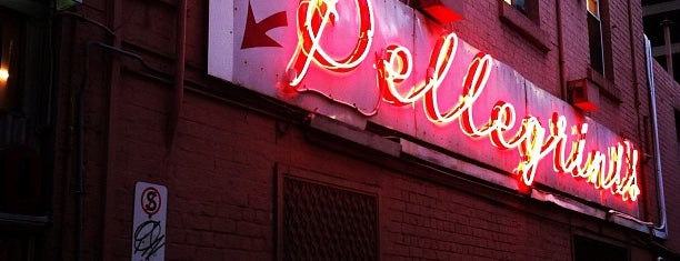 Pellegrini's is one of Melbourne.