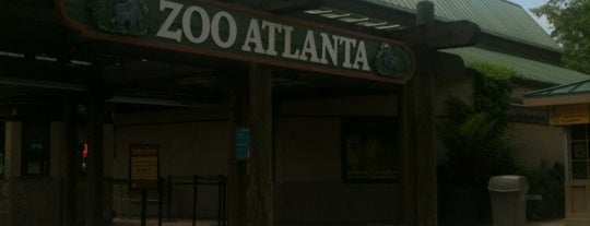 Zoo Atlanta is one of StorefrontSticker City Guides: Atlanta.