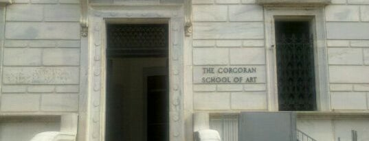 Corcoran School of the Arts & Design is one of ♡DC.