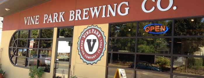 Vine Park Brewing Co. is one of Saint Paul Tour.