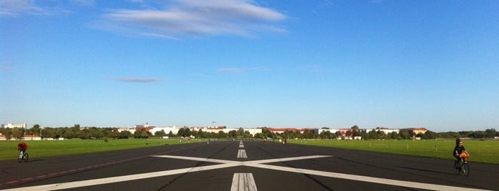 Flughafen Tempelhof is one of Berlin spots to visit.