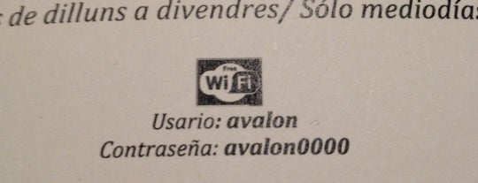 Avalon is one of Free wi-fi venues.