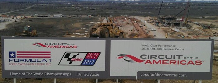 Circuit of The Americas is one of Formula One Track 2014.