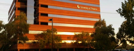 University of Phoenix - Phoenix Hohokam Campus is one of Alicia's Top 200 Places Conquered & <3.