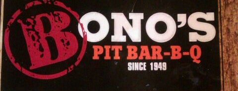 Bono's Pit Bar-B-Q is one of Lugares favoritos de Todd.