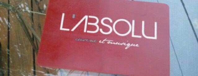 L'Absolu - Cusine et Musique is one of Lugares para ficar bebado em São Paulo.
