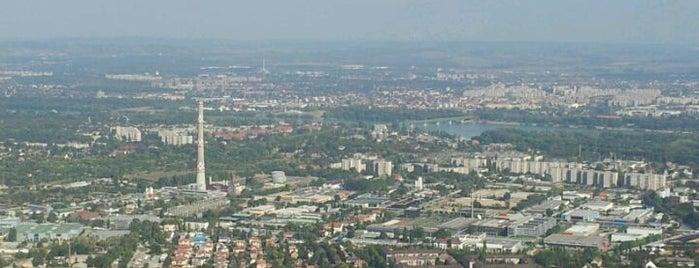 Hármashatár-hegy is one of Budapest.
