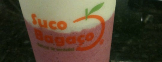 Suco Bagaço is one of Healthy.