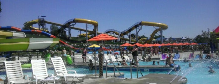 Water World is one of Denver Family Fun.