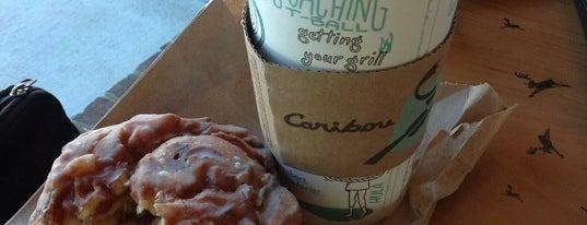 Caribou Coffee is one of Tempat yang Disimpan Carl.