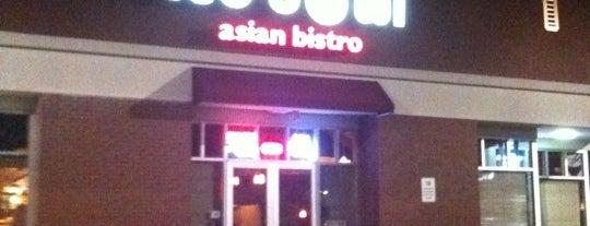 Red Bowl Asian Bistro is one of Alejandro'nun Beğendiği Mekanlar.