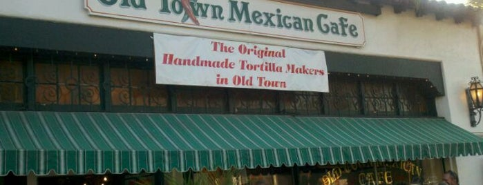 Old Town Mexican Cafe is one of San Diego: Taco Shops & Mexican Food.