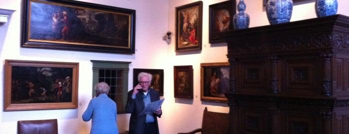 Het Rembrandthuis is one of Gratis toegang met (free entry with) museumkaart..