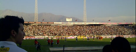 Estadio Monumental David Arellano is one of Pubs, Bares, Restaurant, Resto Bar y Discoteque..