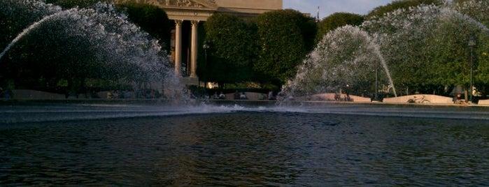 National Gallery of Art - Sculpture Garden is one of District of Art.