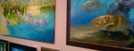 The Painted Fish Gallery is one of Hidden Treasures of Tampa Bay.