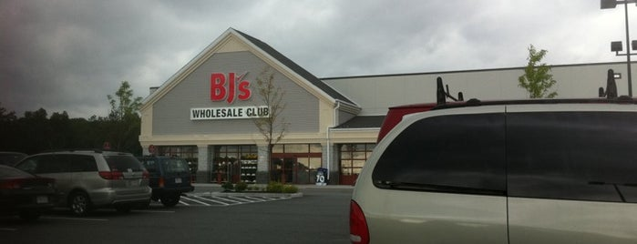 BJ's Wholesale Club is one of Hudson MA July 2016.