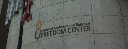 National Underground Railroad Freedom Center is one of Best Places to Check out in United States Pt 3.