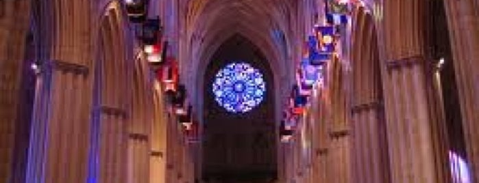 Washington National Cathedral is one of Go back to explore: DC/VA.