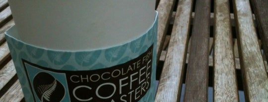 Chocolate Fish Coffee Roasters is one of Worldwide Coffee Guide.
