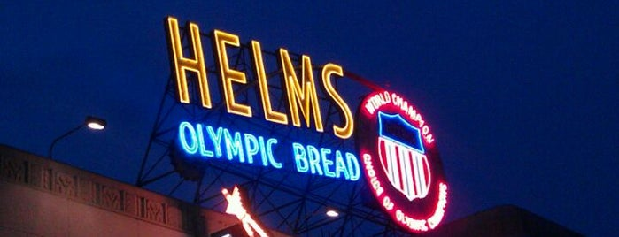 Helms Bakery District is one of Lugares favoritos de James.
