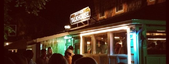 Stephen Talkhouse is one of East Hampton.