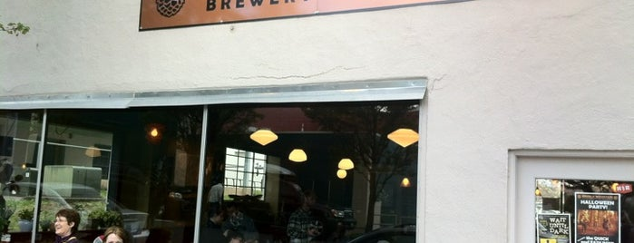 Double Mountain Brewery & Taproom is one of PDX Brew Pubs.