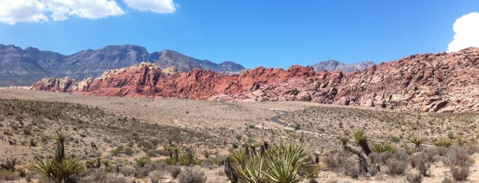Red Rock Canyon National Conservation Area is one of Great Vegas Views.