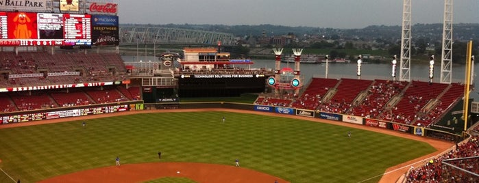 Great American Ball Park is one of Great Sport Locations Across United States.