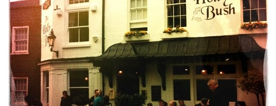 The Holly Bush is one of London must eat and drink.