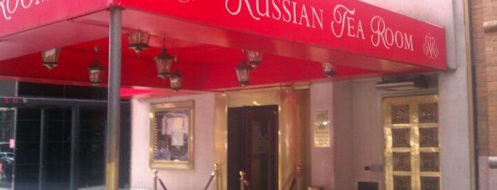 Russian Tea Room is one of Gossip Girl Filming Locations.