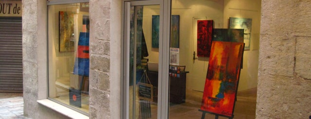 Ben Banks Art is one of FR2DAY's Guide to French Riviera Art Galleries.