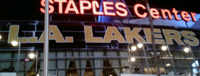 STAPLES Center is one of LA Guide for Arabs ;).
