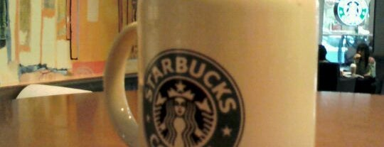 Starbucks Coffee is one of Café.