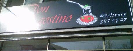 Don Agostino is one of Restaurantes, Bares, Cafeterías y Mundo Gourmet.