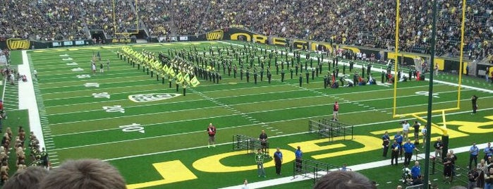 Autzen Stadium is one of Experience NCAA Teams.