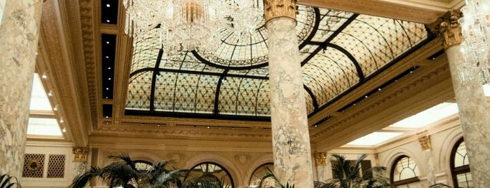 The Oak Room at The Plaza Hotel is one of New York City.